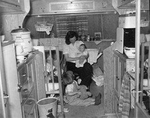Quonset hut, circa 1950