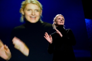 Elizabeth Gilbert speaking at TED Conference